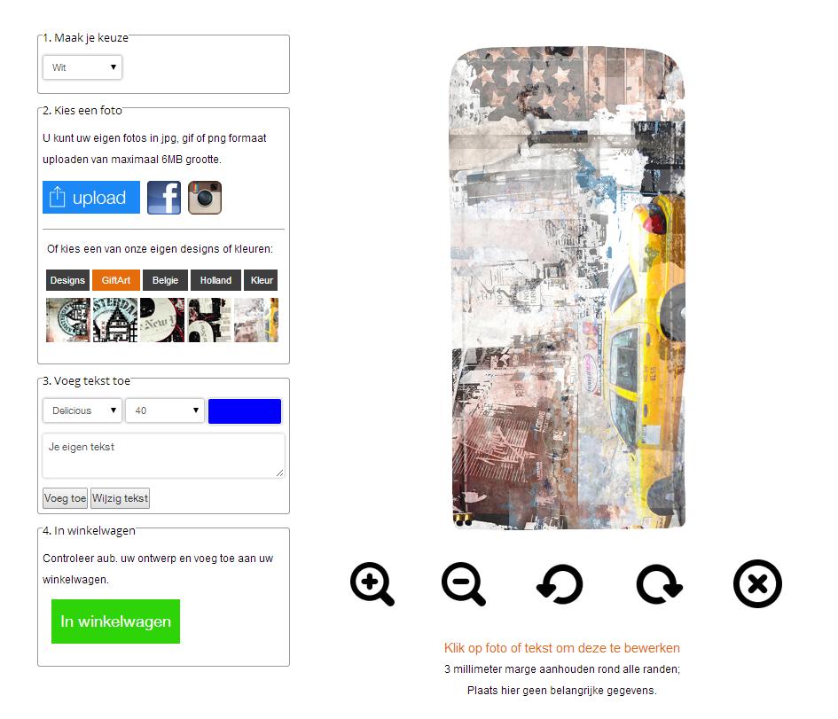 Designa eget Samsung Galaxy S5 flipskal