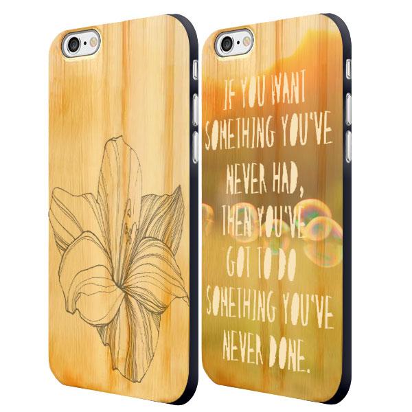 Designa eget iPhone 6 trä skal