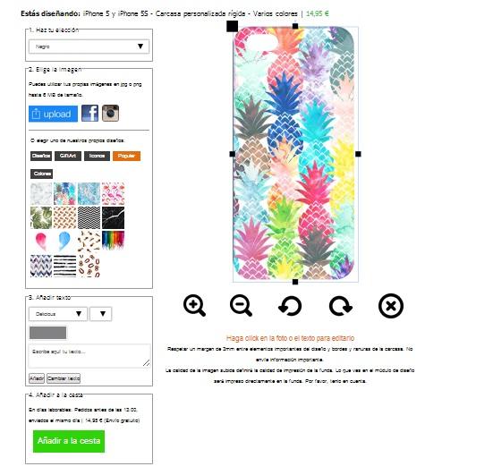 Designa ett iPhone 5s skal