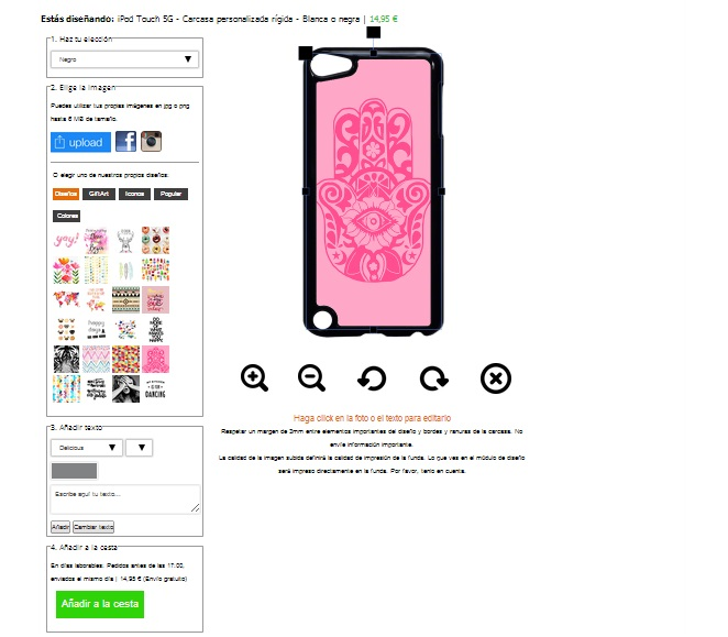 Designa eget Apple iPod touch 5G skal