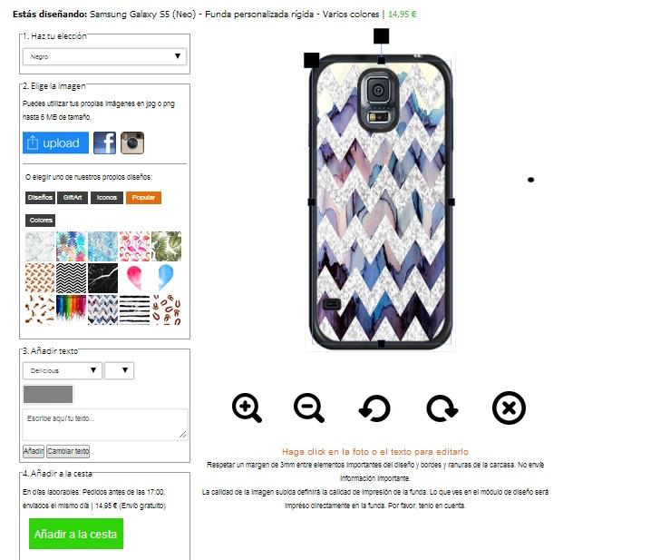 Gör ditt eget Samsung Galaxy S5 skal