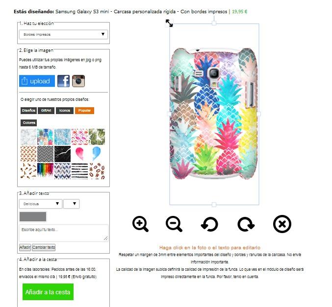 Gör ditt eget Samsung Galaxy S3 mini skal