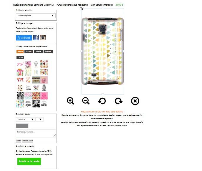 Designa ditt eget Samsung Galaxy S4 skal