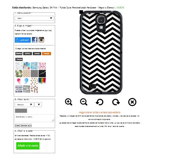 Gör ditt eget Samsung Galaxy S4 mini skal