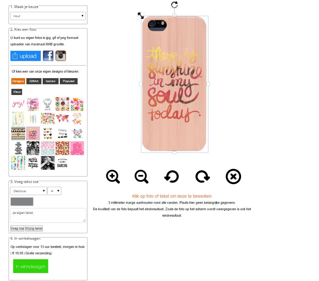 Designa eget iPhone 5 (S) bambu skal