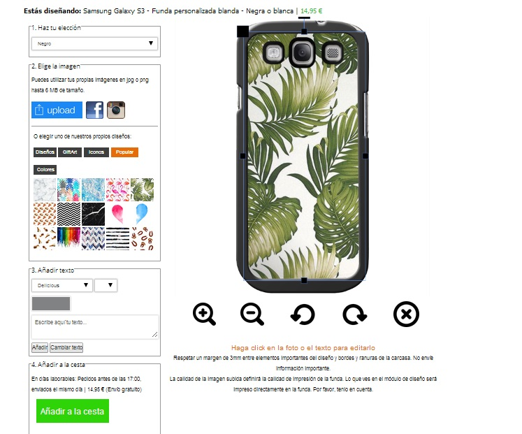 Gör ditt eget Samsung Galaxy S3 skal med foto