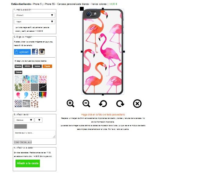 Designa eget iPhone 5 (S) silikonskal