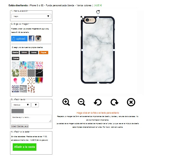Designa eget iPhone 6 (S) skal