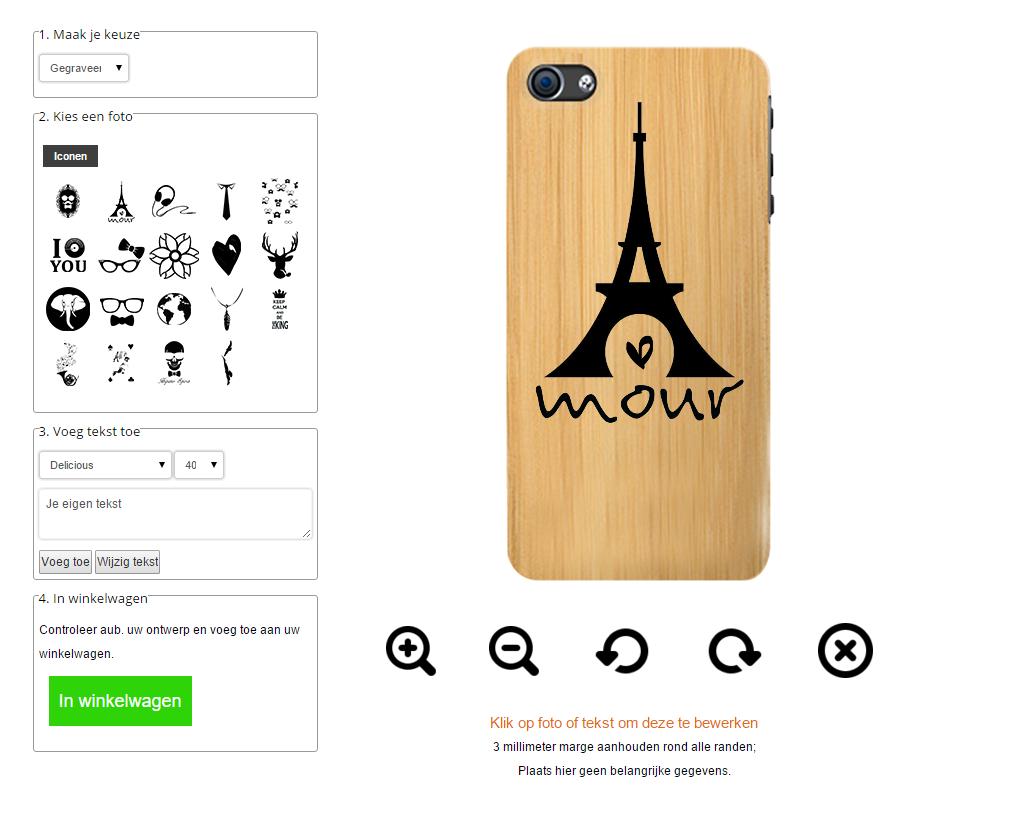 Gör ditt eget iPhone 6 & 6S bambu skal