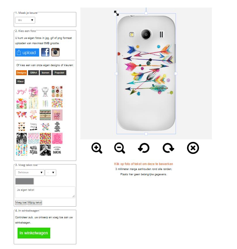 Gör ditt eget Samsung Galaxy Ace 4 skal
