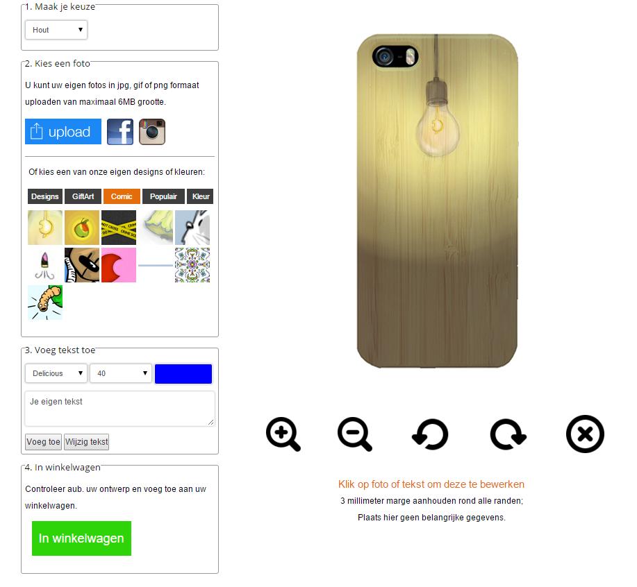 Gör ditt eget iPhone 6 & 6S trä skal