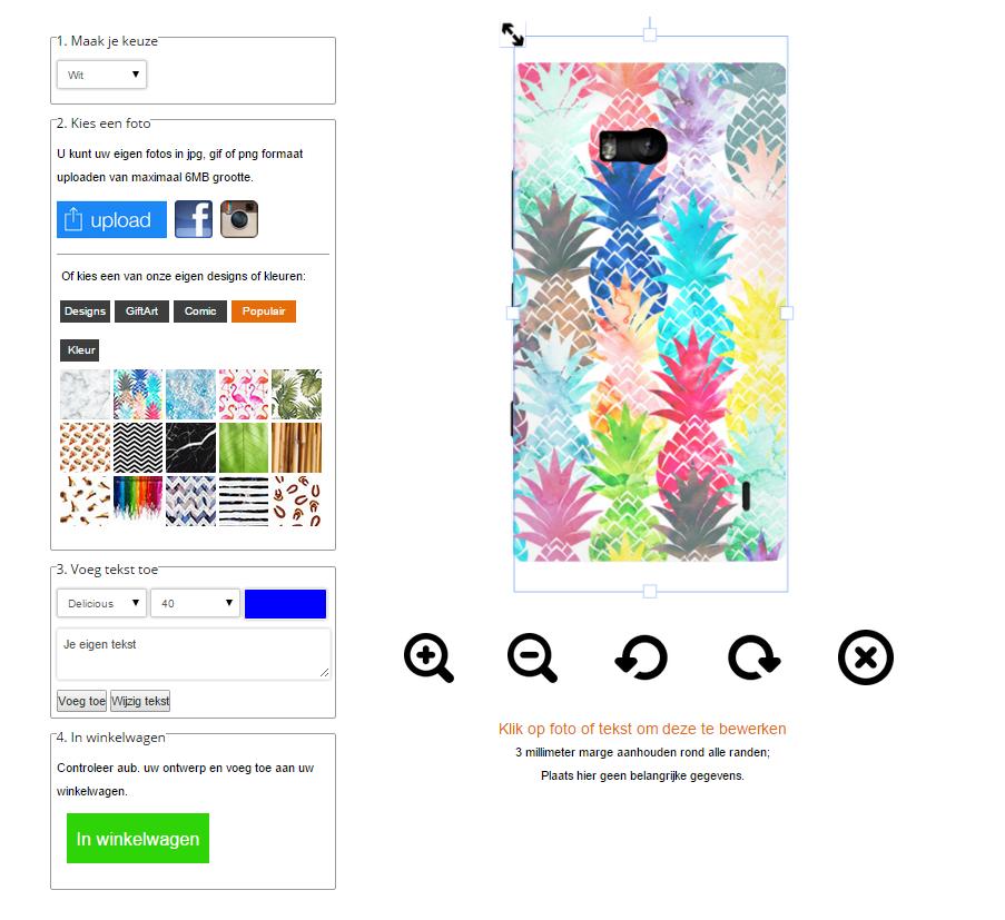 Gör ditt eget Nokia Lumia 930 skal