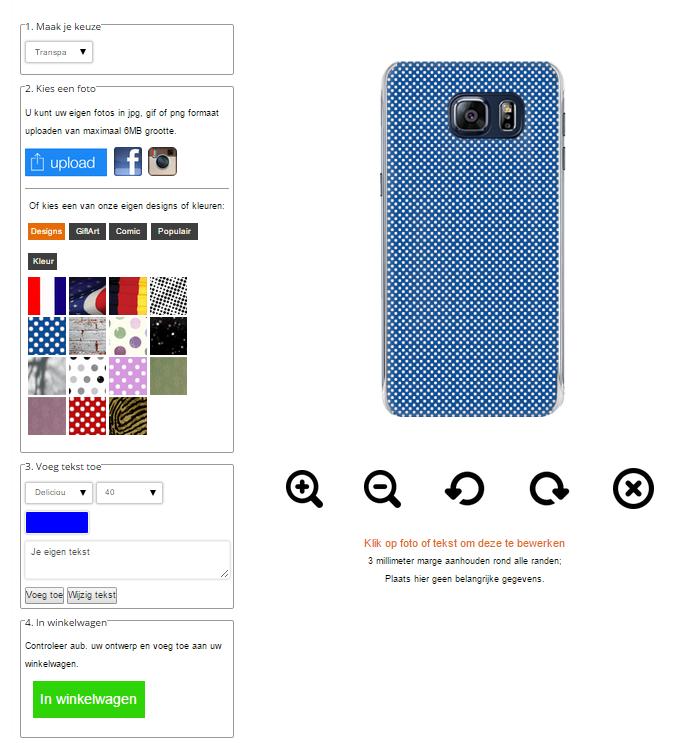Gör ditt eget Galaxy S6 Plus skal med foto