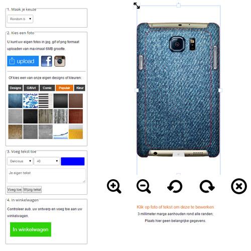 Gör ditt eget Samsung Galaxy S6 Edge skal med foto