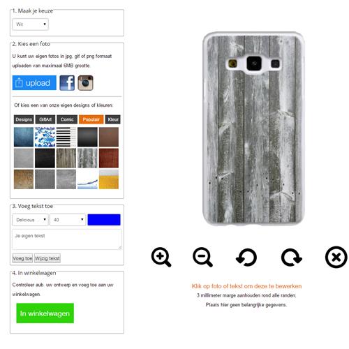 Designa eget Samsung Galaxy A3 skal med foto