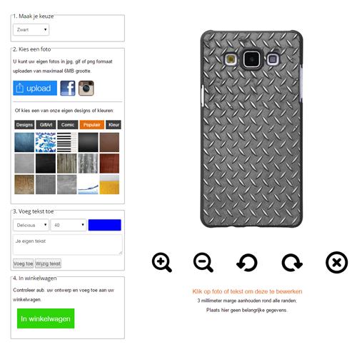 Gör ditt eget Samsung Galaxy A5 skal med foto