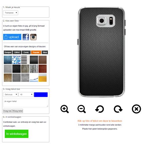 Gör ditt eget Galaxy S6 skal med foto