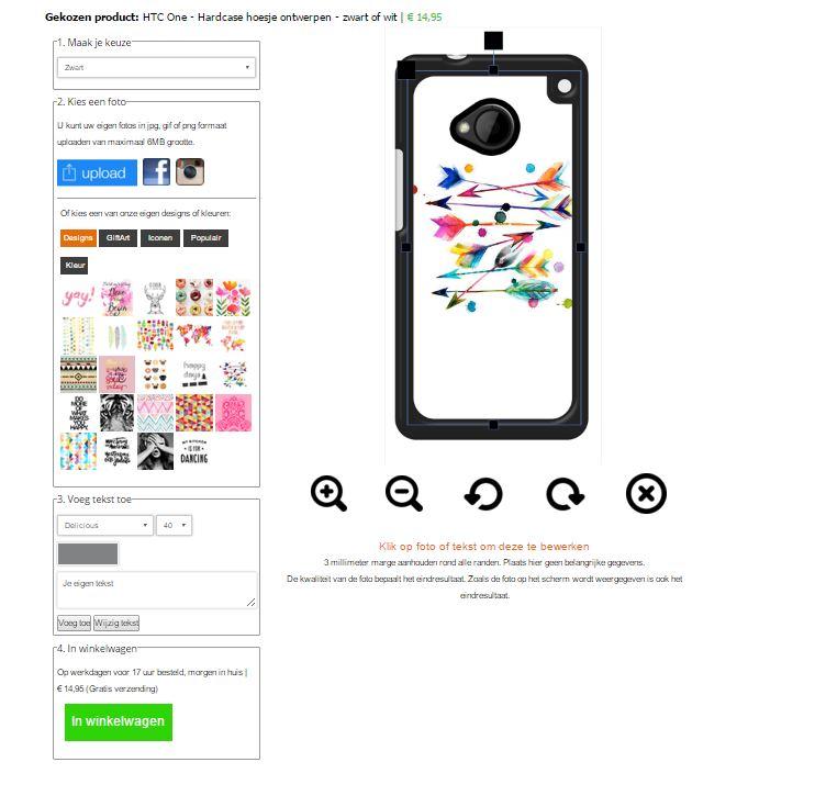 Gör ditt eget HTC One skal med foto