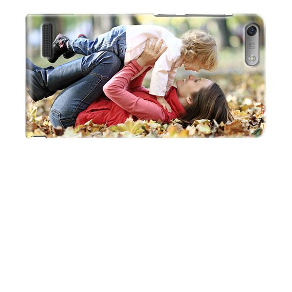 Huawei Ascend G6 Hardcase hoesje ontwerpen Zwart en Wit