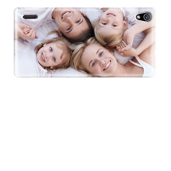 Huawei Ascend P7 Hardcase hoesje met foto -  Wit