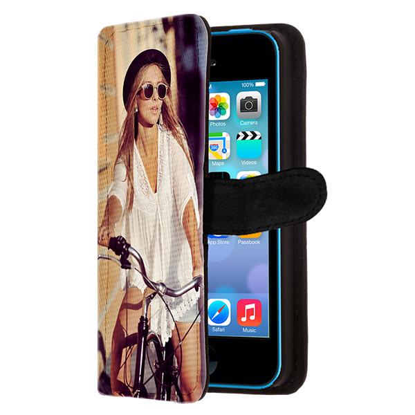 Designa eget iPhone 5C plånboksfodral