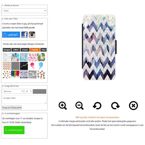 Designa eget iPhone 5s fodral med foto
