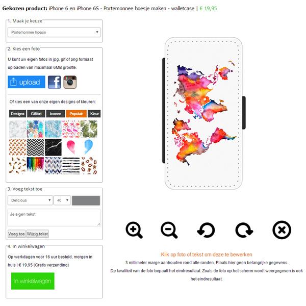 Gör ditt eget iPhone 6 plånboksfodral