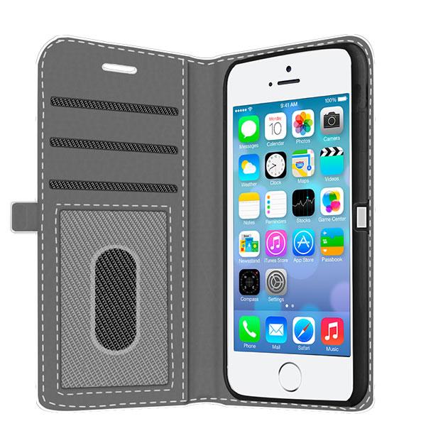 Gör ditt eget iPhone 5 (S) plånboksfodral