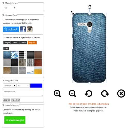 Gör ditt eget Motorola Moto G skal
