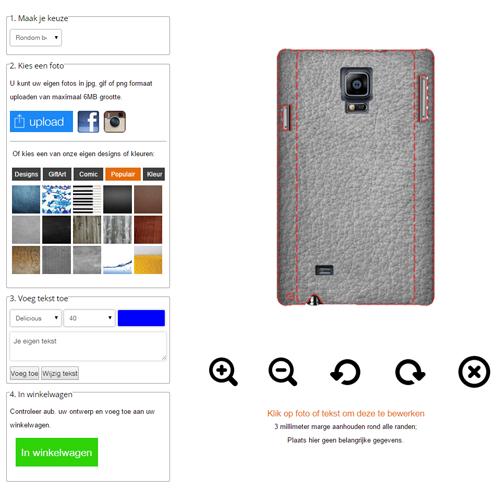 Gör ditt eget Samsung Galaxy Note 4 skal