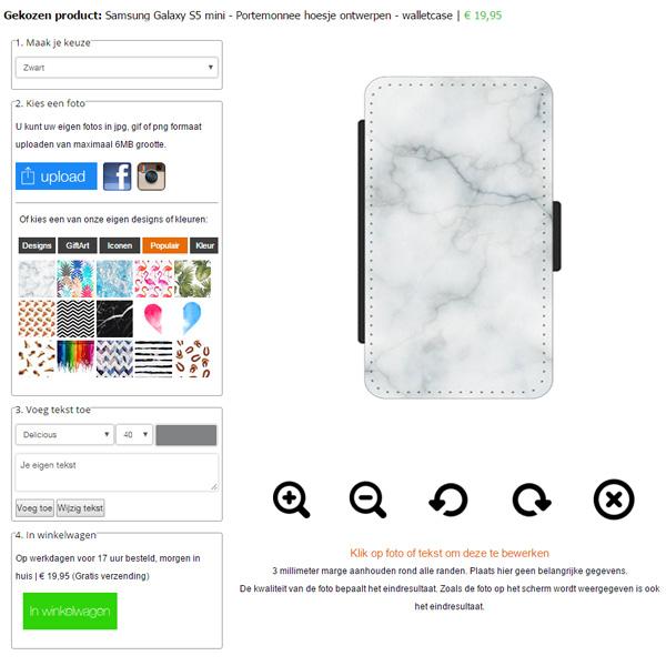 Gör ditt eget Galaxy S5 Mini plånboksfodral