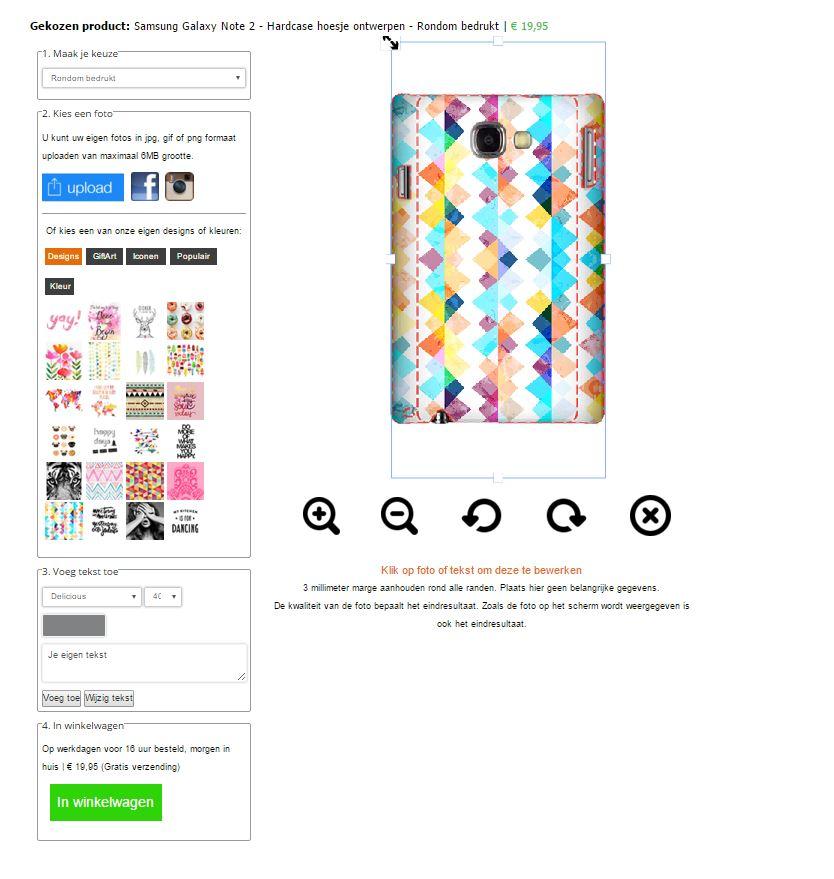 Gör ditt eget Samsung Note 2 skal med foto