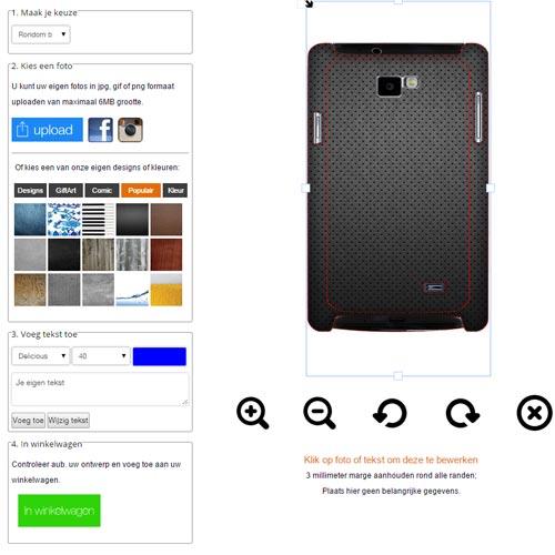 Gör ditt eget Samsung Galaxy S2 skal med foto