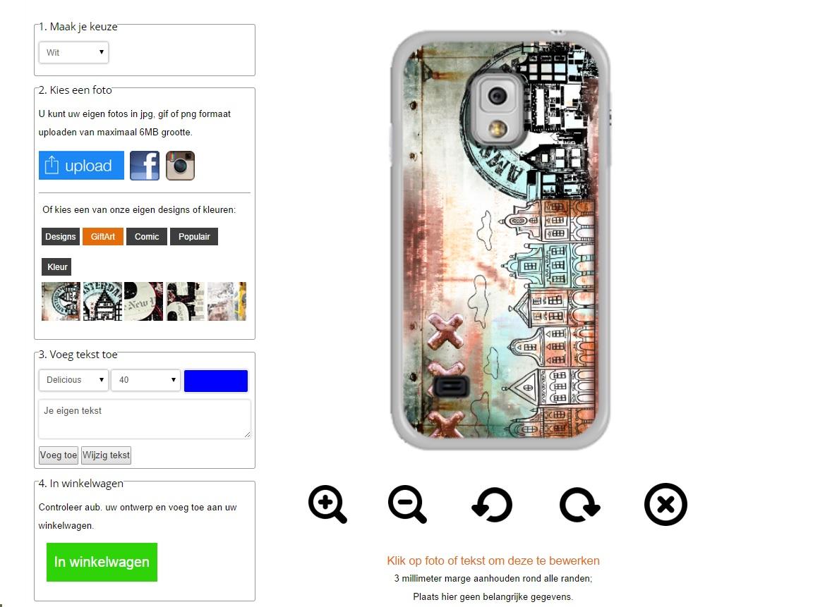 Gör ditt eget Samsung Galaxy S5 Mini skal