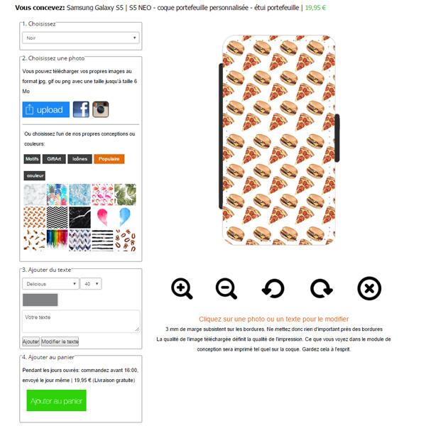 Gör ditt eget Samsung Galaxy S5 plånboksfodral