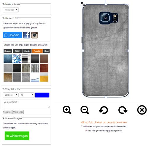 Gör ditt eget Galaxy S6 Edge skal