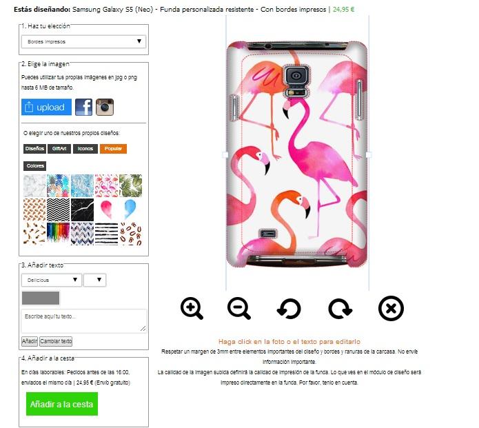 Gör ditt eget Samsung Galaxy S5 skal med foto