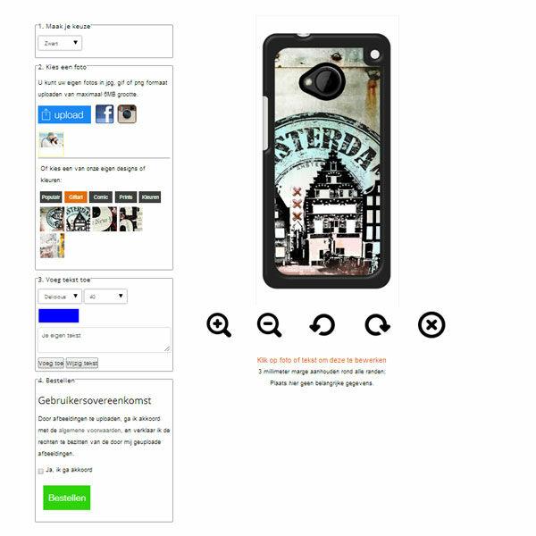 Gör ditt eget HTC One M8 skal med foto