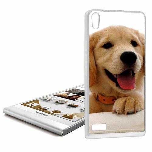 Gör ditt eget Huawei P6 silikonskal med foto svart vit