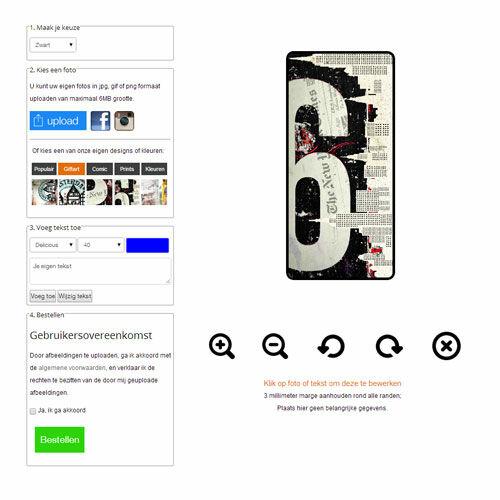 Gör ditt eget Samsung Galaxy S4 mini plånboksfodral